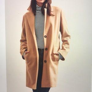 Wool-blend coat women's Xl